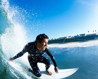 surfing on ocean tides will surely reduce your stress level