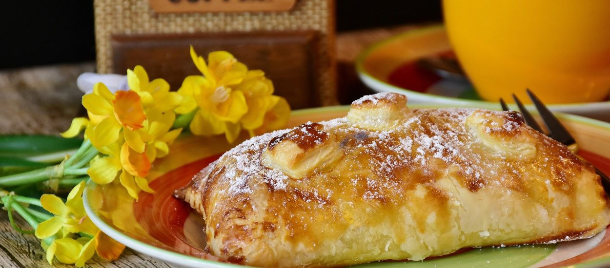 Puff Pastry Smoked Salmon and Goat Cheese Quiche