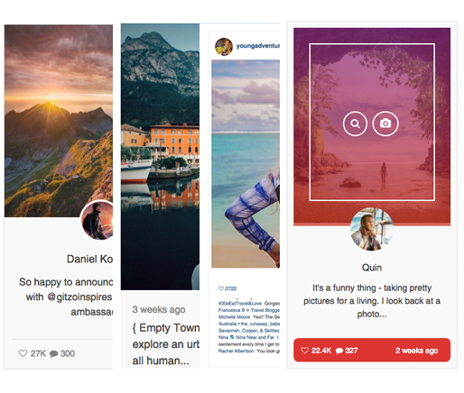 Accesspress Instagram Feed Pro - 15 Layouts