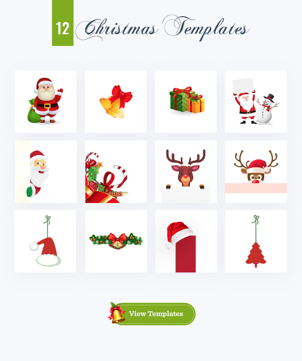 Apex Notification Bar - Christmas Templates