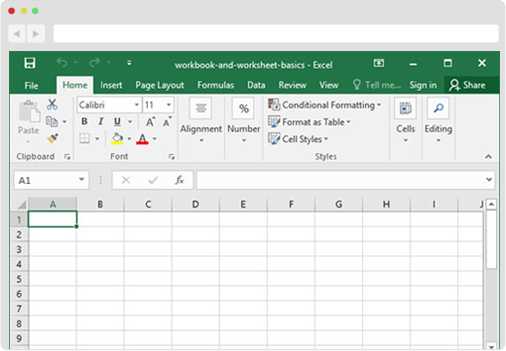 CSV for The Entries for Excel