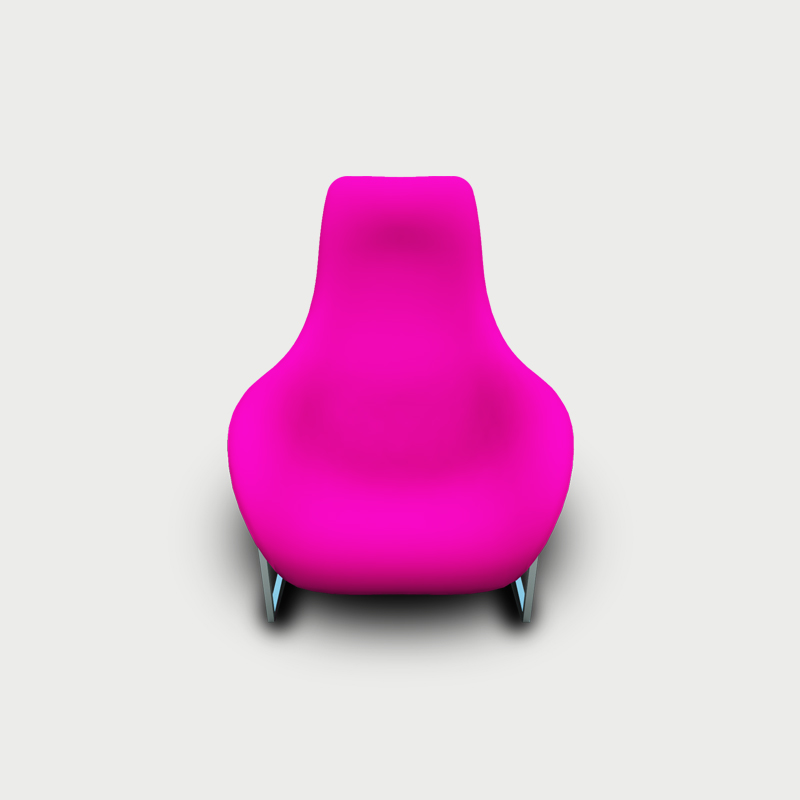 Pink hover chair