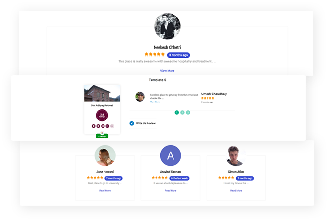 5+ Attractive Review Templates
