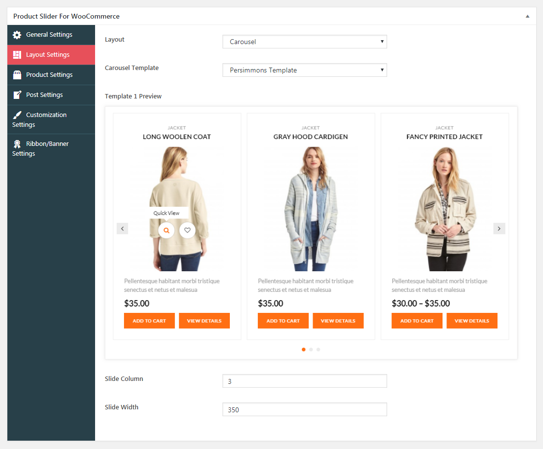 Product Slider For WooCommerce Lite Carousel