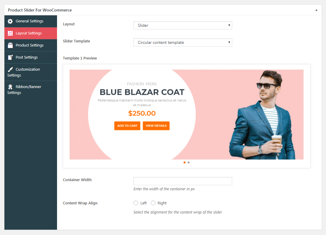 Product Slider For WooCommerce Lite Slider