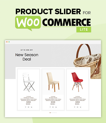 Product Slider For WooCommerce Lite –  Free Woo Extension to Showcase Products