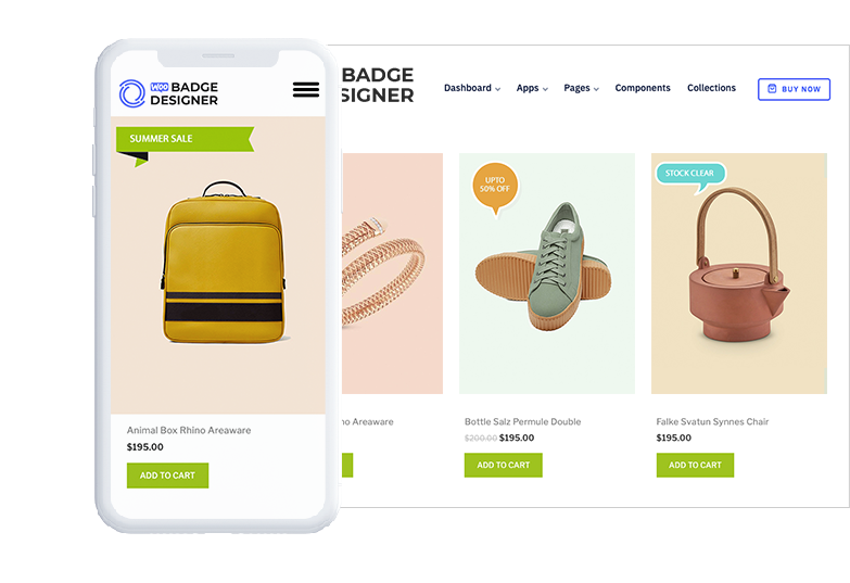 Woo Badge – WooCommerce Product Badge Designer WordPress Plugin- Banner Slider Image