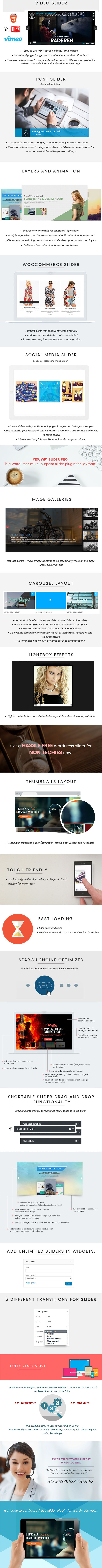 WP1 Slider Pro - WordPress Responsive Touch Slider for a Layman Download