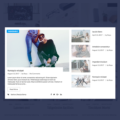 wp blog manager magazine template 1-5