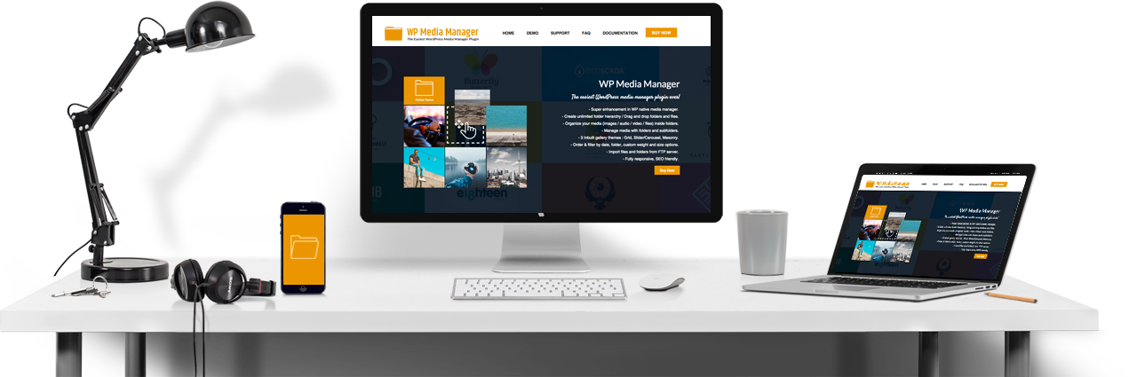 WP Media Manager - Footer Banner