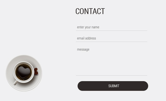 Contact Form Popup Demo