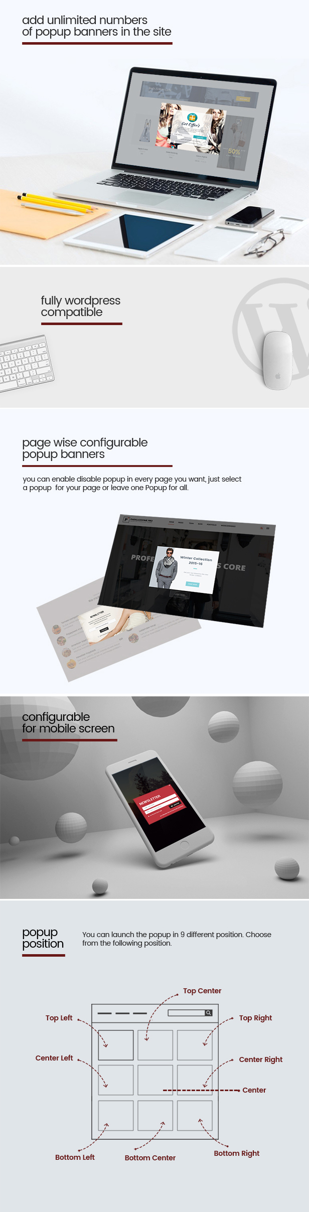 WP Popup Banners Pro - Ultimate popup plugin for WordPress - 3